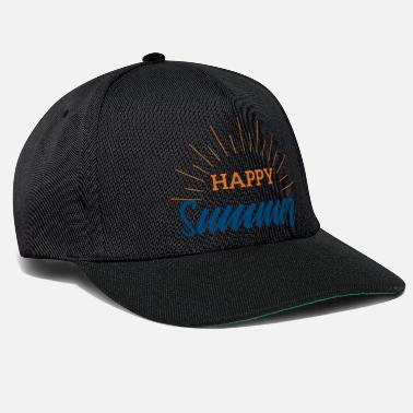 Summer Summer Happy Summer Festival Music Gift - Snapback Cap