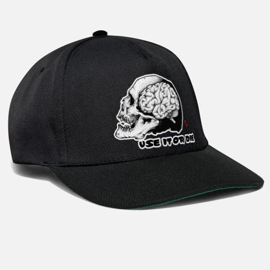 Symbol  Caps & Hats - USE IT OR THE. - Snapback Cap black/black