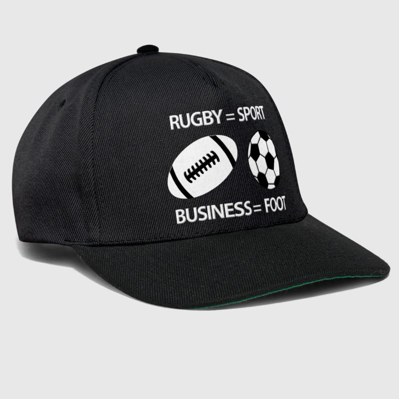 Rugby foot 2 - Casquette snapback