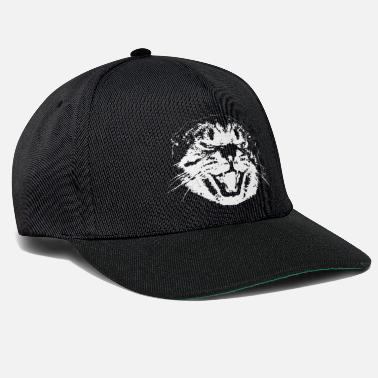 Animali Gatto irritato Animali divertenti - Cappello snapback