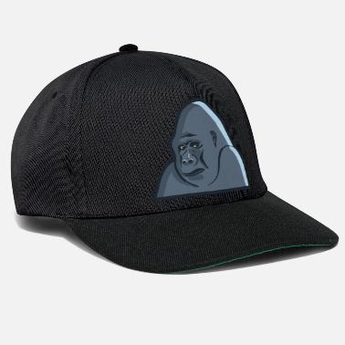 7660dc9f60808a King Kong Monkey gorilla silverback ape King Kong - Snapback Cap