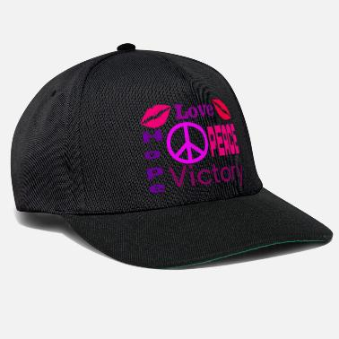 Love, Peace, Hope and Victory - Snapback Cap
