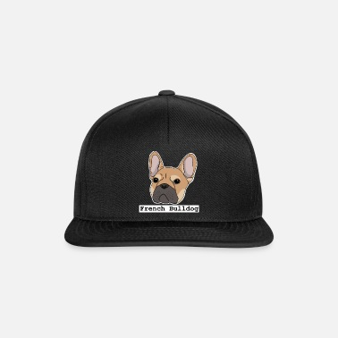 French French Bulldog, French Bulldog - Snapback Cap
