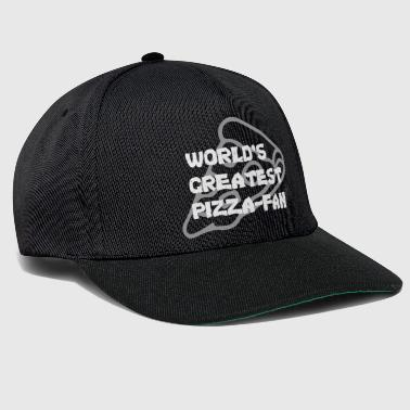 Pizza, le plus grand four à pizza pizzafan au monde - Casquette snapback