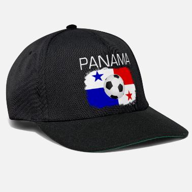 Panama Panama football fan flag gift idea - Snapback Cap