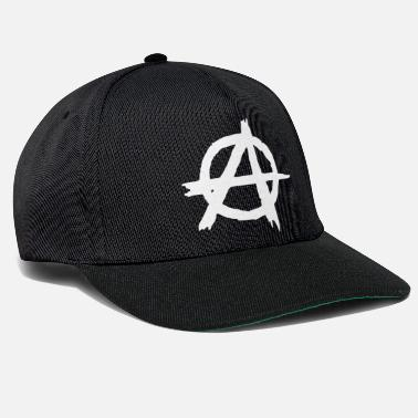 Anarchiste anarchie - Casquette snapback