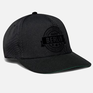 Made In Usa Made in BERLIN - Snapback Cap