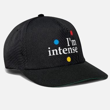Hippie Jeg er Intense Slogan Graphic - Snapback Cap