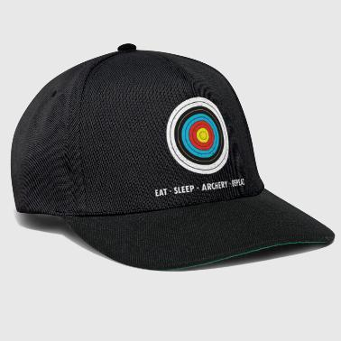 Eat Sleap Archery Repeat - Snapback Cap