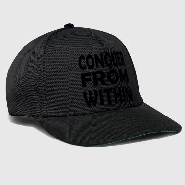 Conquer conquer within - Snapback Cap