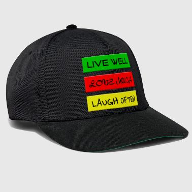Mantra Mantra - Life motto - Live love pool - Snapback Cap