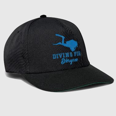 Dive Diving / Diving: Diving For Everyone - Snapback Cap