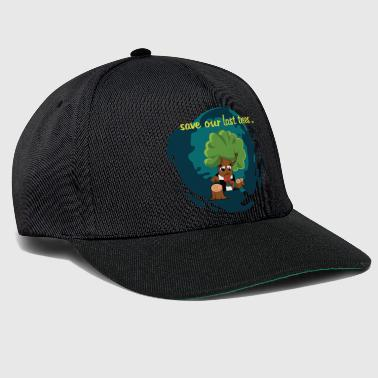 Save our trees protecting the environment - Snapback Cap