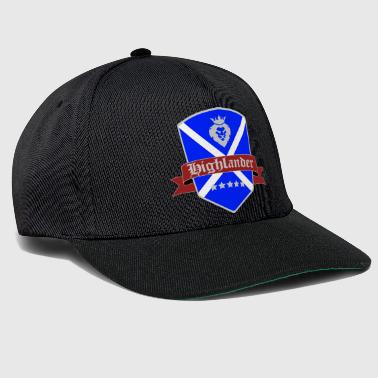 Highland Scotland Highland Highlander shirt flag - Snapback Cap