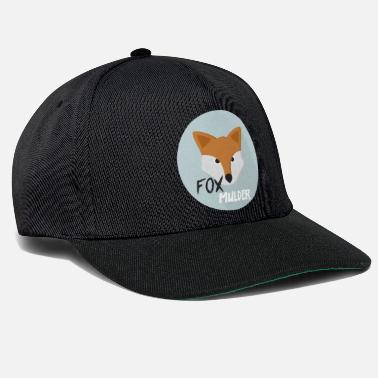 Officialbrands Fox Mulder T-paita - Snapback Cap