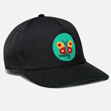 Officialbrands Butterfly Buddha T-Shirt - Snapback Cap