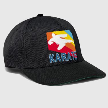 Retron Vintage Style Karate Martial Arts Fighter - Snapback Cap