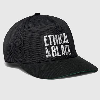 Ethical Ethical is the new black - Snapback Cap