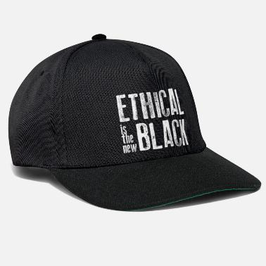 Ethics Ethical is the new black - Snapback Cap