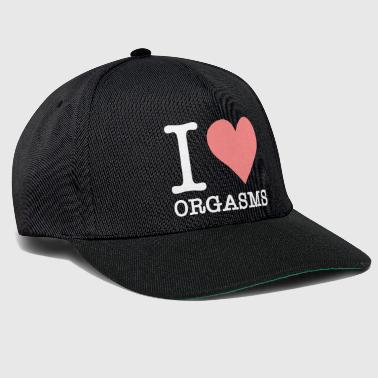 Sexual Intercourse I Love Orgasms! - Snapback Cap