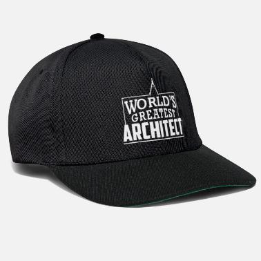 Architect Architectuur shirt - Architect Gift Architects - Snapback cap