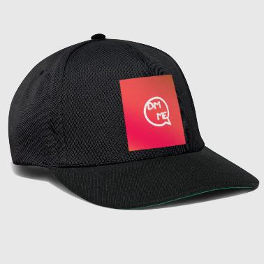 Message direct moi - Casquette snapback