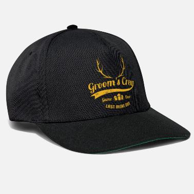 Collections GROOMS CREW Chemises Game Over Team JGA Gifts - Casquette snapback