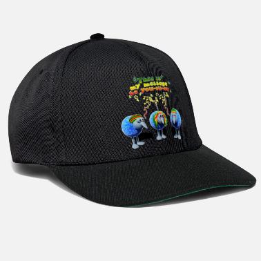 three little RASTA birds - Snapback Cap