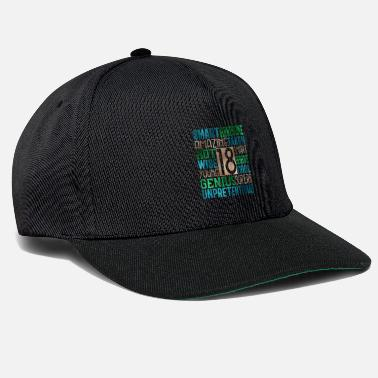 Teenager Teenagers 18 participants - Casquette snapback