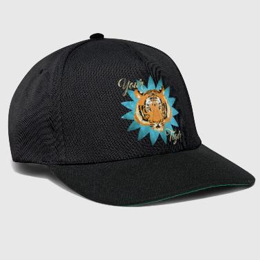 Your tiger vintage - Casquette snapback