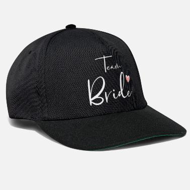 Avond Team Bride Heart Hen Party Gift - Snapback cap