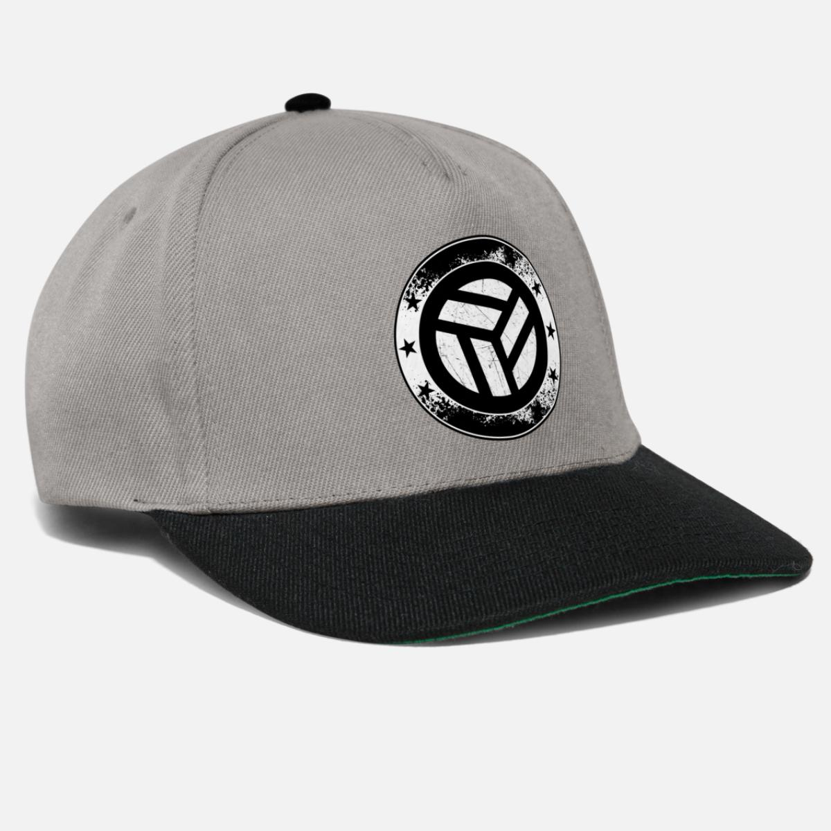 245c102c733a9f Volleyball Emblem - Ball Netz Volley Symbol Sport Snapback Cap | Spreadshirt