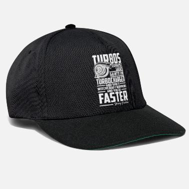 Turbo Funny Turbo Shirt for Petrolheads - Snapback Cap 4bc613099d66