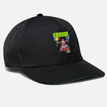 Connor Fire Department Connor Gift - Snapback Cap