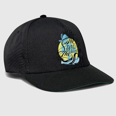 The sun and the sand - Snapback Cap