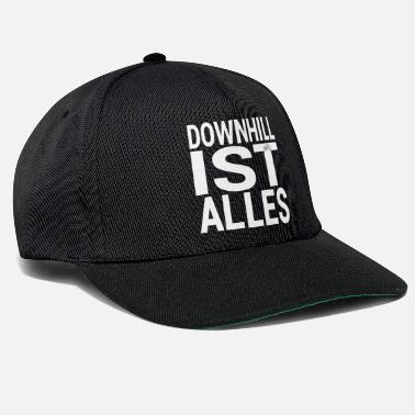 Downhill DOWNHILL IS ALLES - Snapback cap