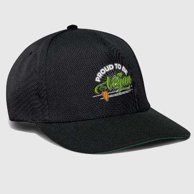 Vegan - Proud to be Vegan (Carrot) - Snapback Cap