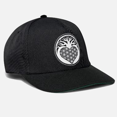 bdd410e8a3f New Age Sacred geometry tree of life flower symbol gift - Snapback Cap