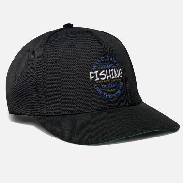Black Forest Wild Camp - Live The Stream - Outdoor Fishing - Snapback Cap
