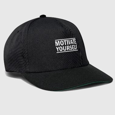 Motivate yourself! Motiviere dich! Motivation - Snapback Cap