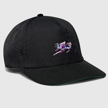 Mermaid Fantasy 80s Retro Violet - Gorra Snapback