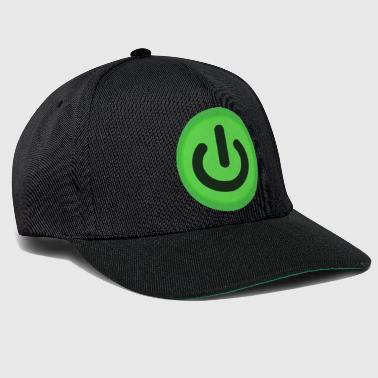 Power Button On / Off button Power Button Switch - Snapback Cap
