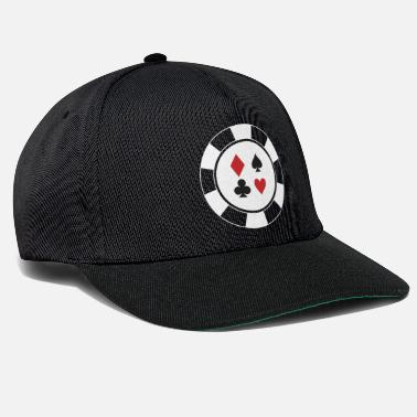 Ruit Pokerchips Check Pik Cross Heart Cards Cadeauidee - Snapback cap