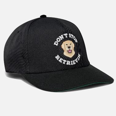 Retriever Golden Retriever hond cadeau - Snapback cap