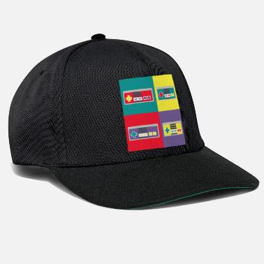 Geek Pop art geek, joystick - Snapback cap
