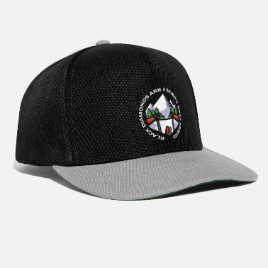 Freerider Black Diamonds Are A Skier's Best Friend - Snapback Cap