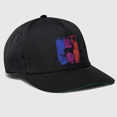 Deer nature forest Wilde geweien - Snapback cap