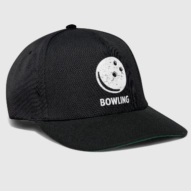 Bowling Alley Bowling bowler bowling alley gift - Snapback Cap
