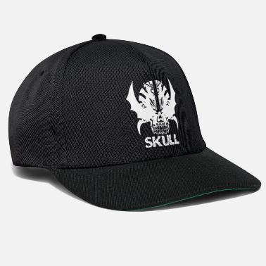 Heavy Metal SKULL HEAVY METAL crâne hard rock - Casquette snapback