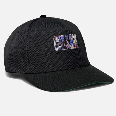 College college american football tshirt design - Snapback Cap